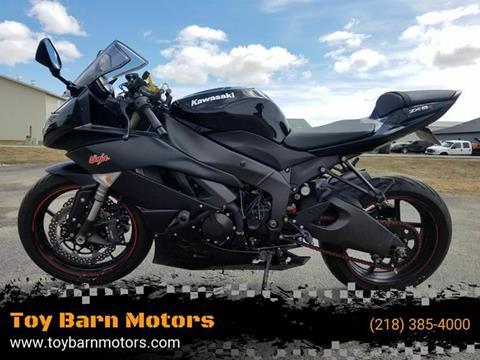 2011 Kawasaki Ninja ZX-6R for sale in New York Mills, MN