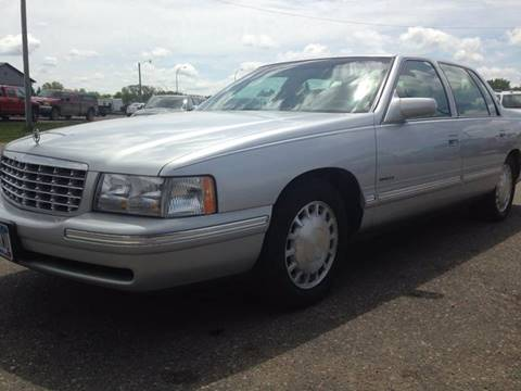 1999 Cadillac DeVille for sale at Toy Barn Motors in New York Mills MN