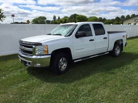 2012 Chevrolet Silverado 1500 for sale at Toy Barn Motors in New York Mills MN