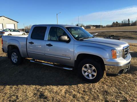 2012 GMC Sierra 1500 for sale at Toy Barn Motors in New York Mills MN