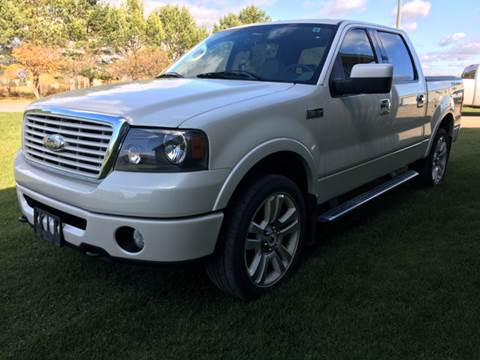 2008 Ford F-150 for sale at Toy Barn Motors in New York Mills MN