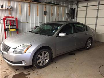 2004 Nissan Maxima for sale at Toy Barn Motors in New York Mills MN