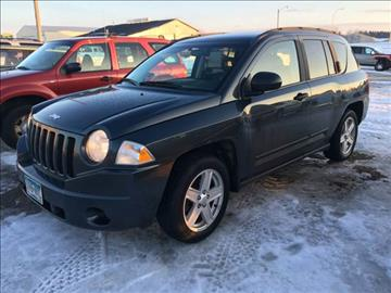 2007 Jeep Compass for sale at Toy Barn Motors in New York Mills MN