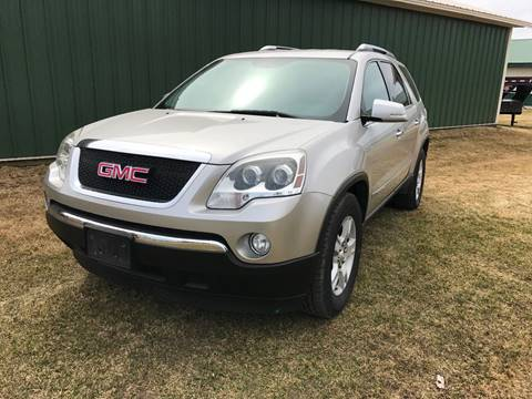 2007 GMC Acadia for sale at Toy Barn Motors in New York Mills MN