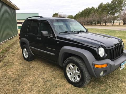 2002 Jeep Liberty for sale at Toy Barn Motors in New York Mills MN