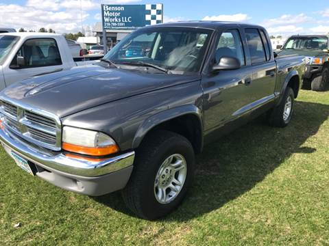 2004 Dodge Dakota for sale at Toy Barn Motors in New York Mills MN