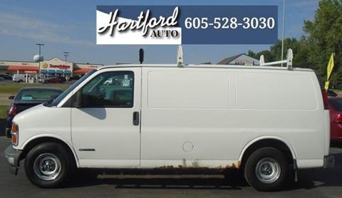 2002 Chevrolet Express Cargo for sale in Hartford, SD