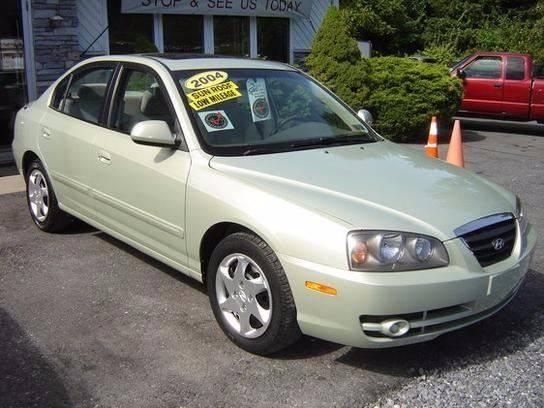 2004 Hyundai Elantra GLS 4dr Sedan   Cherryville PA