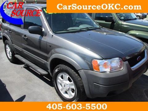 2002 Ford Escape for sale in Oklahoma City, OK
