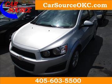 2014 Chevrolet Sonic for sale in Oklahoma City, OK