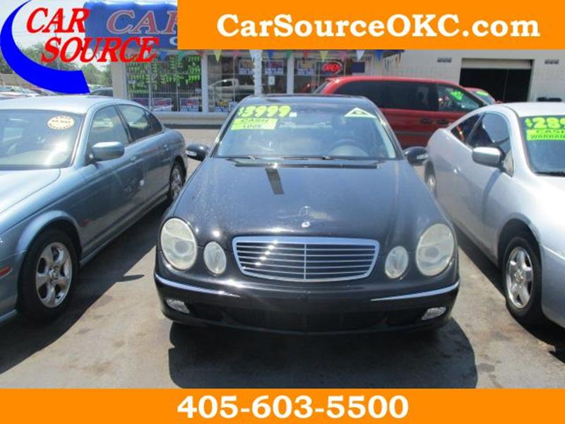 2004 Mercedes Benz E Class E 320 4dr Sedan   Oklahoma City OK
