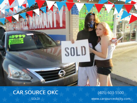 2013 Nissan Altima for sale at CAR SOURCE OKC in Oklahoma City OK