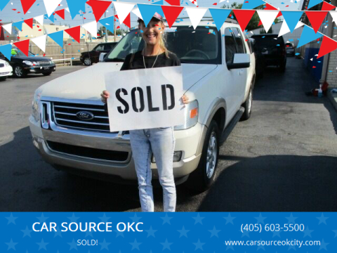 2010 Ford Explorer for sale at CAR SOURCE OKC in Oklahoma City OK
