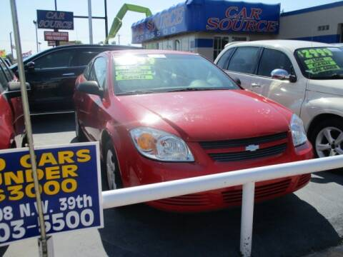 2007 Chevrolet Cobalt for sale at CAR SOURCE OKC in Oklahoma City OK