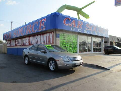 2009 Ford Fusion for sale at CAR SOURCE OKC in Oklahoma City OK