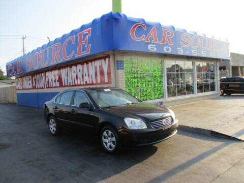 2007 Kia Optima for sale at CAR SOURCE OKC in Oklahoma City OK