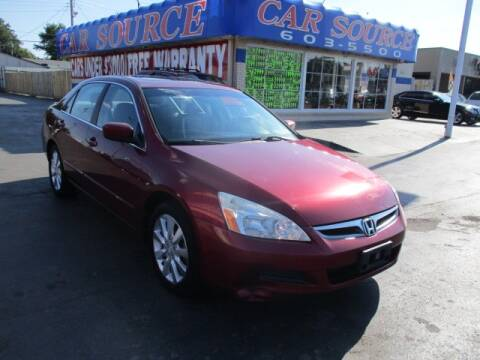 2006 Honda Accord for sale at CAR SOURCE OKC in Oklahoma City OK