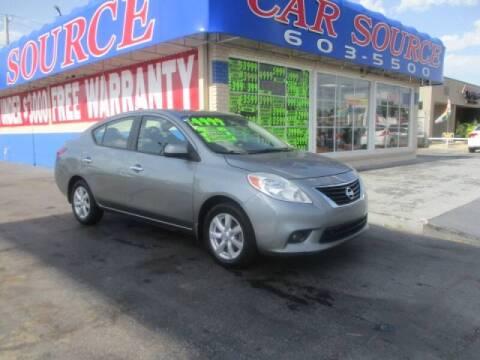 2012 Nissan Versa for sale at CAR SOURCE OKC in Oklahoma City OK