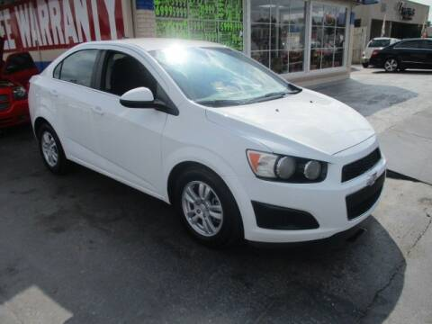 2012 Chevrolet Sonic for sale at CAR SOURCE OKC in Oklahoma City OK