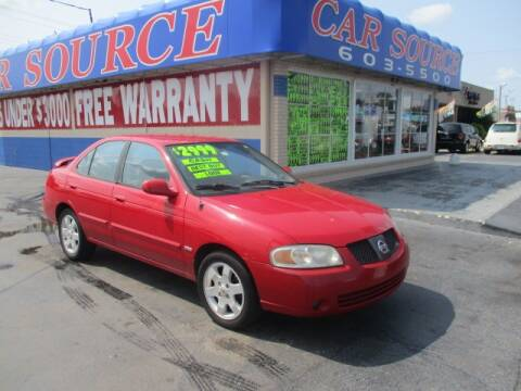 2005 Nissan Sentra for sale at CAR SOURCE OKC in Oklahoma City OK