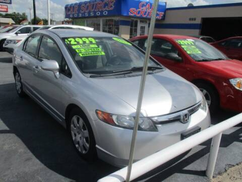 2006 Honda Civic for sale at CAR SOURCE OKC in Oklahoma City OK