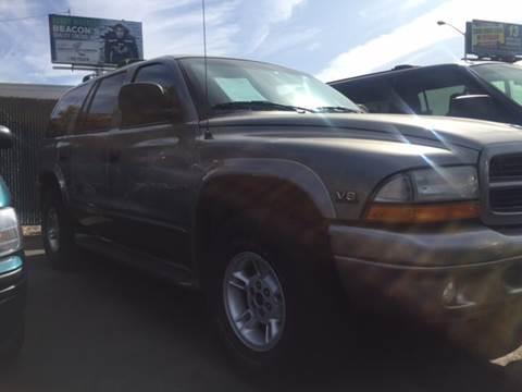 2000 Dodge Durango for sale in Tacoma, WA