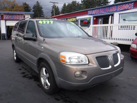 2006 Pontiac Montana SV6 for sale in Tacoma, WA