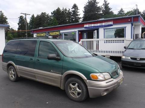 2000 Pontiac Montana for sale in Tacoma, WA