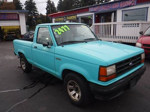 Ranger For Sale >> 1992 Ford Ranger For Sale In Tacoma Wa