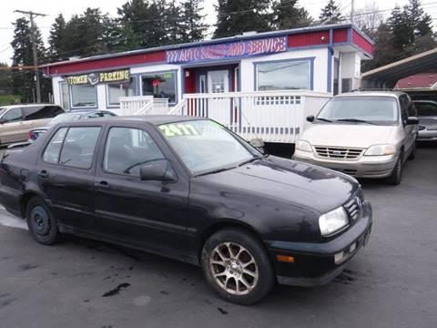 1996 Volkswagen Jetta for sale in Tacoma, WA