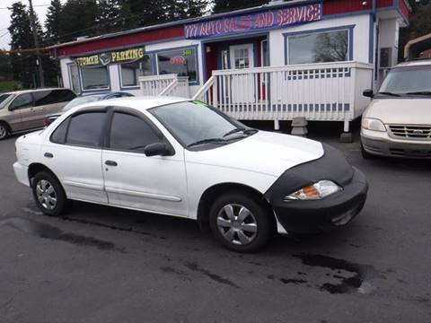 2000 Chevrolet Cavalier for sale at 777 Auto Sales and Service in Tacoma WA