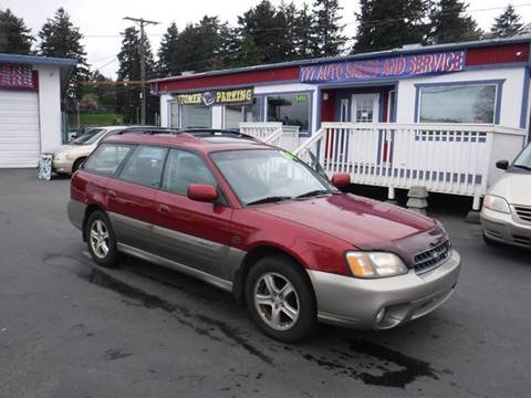 2004 Subaru Outback for sale at 777 Auto Sales and Service in Tacoma WA
