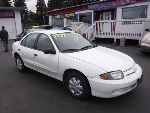 2003 Chevrolet Cavalier for sale in Tacoma, WA