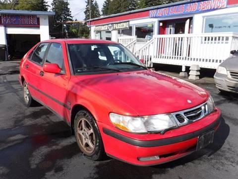 2001 Saab 9-3 for sale in Tacoma, WA