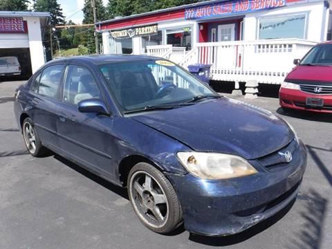 2004 Honda Civic for sale in Tacoma, WA