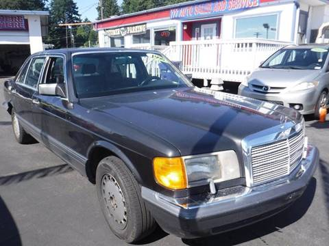 1990 Mercedes-Benz 300-Class for sale in Tacoma, WA
