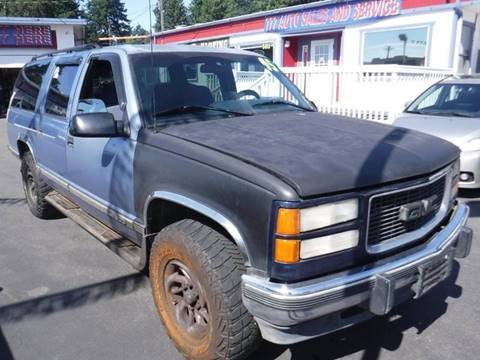 1995 GMC Suburban for sale in Tacoma, WA