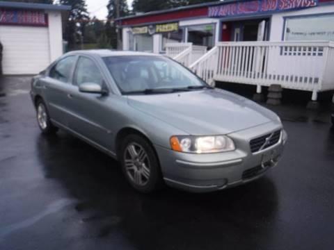 2006 Volvo S60 for sale at 777 Auto Sales and Service in Tacoma WA