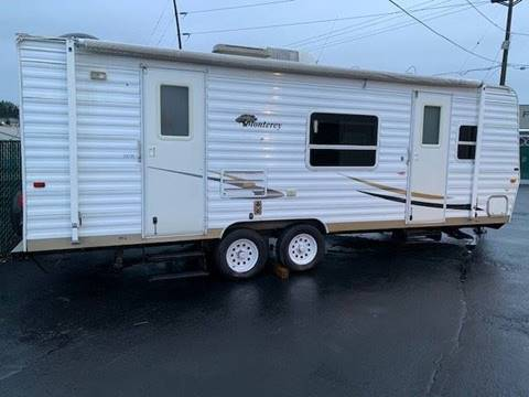2005 EXRV MONTEREY T.T for sale at 777 Auto Sales and Service in Tacoma WA