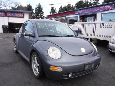 2004 Volkswagen New Beetle GLS 1.8T for sale at 777 Auto Sales and Service in Tacoma WA