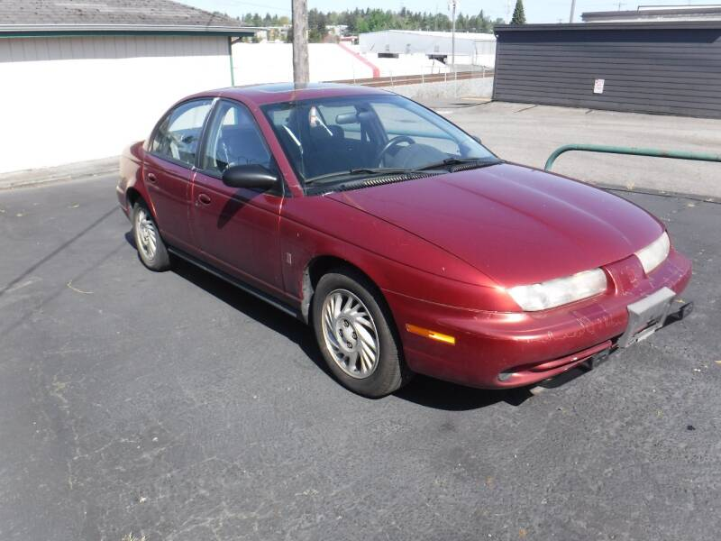 1998 Saturn S-Series for sale at 777 Auto Sales and Service in Tacoma WA