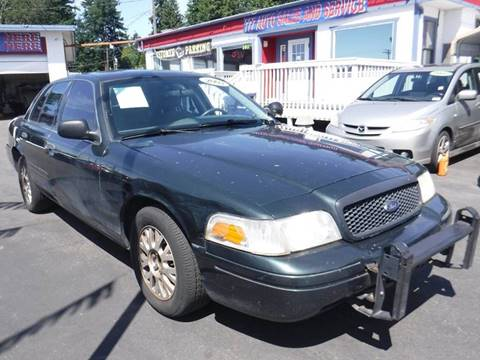 2003 Ford Crown Victoria Police Interceptor for sale at 777 Auto Sales and Service in Tacoma WA