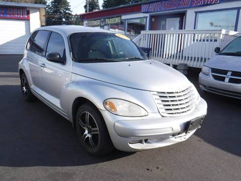 2005 Chrysler PT Cruiser for sale at 777 Auto Sales and Service in Tacoma WA