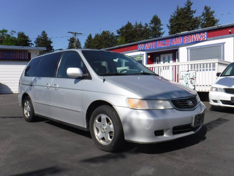 2001 Honda Odyssey for sale at 777 Auto Sales and Service in Tacoma WA