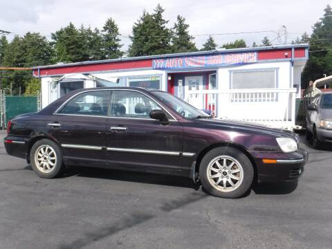 2005 Hyundai XG350 for sale at 777 Auto Sales and Service in Tacoma WA