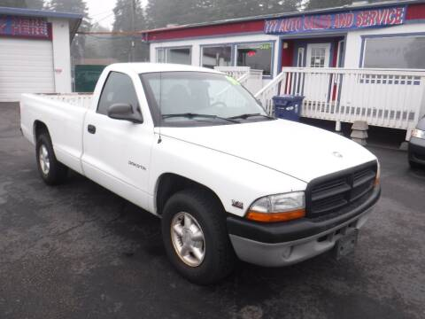 1998 Dodge Dakota for sale at 777 Auto Sales and Service in Tacoma WA
