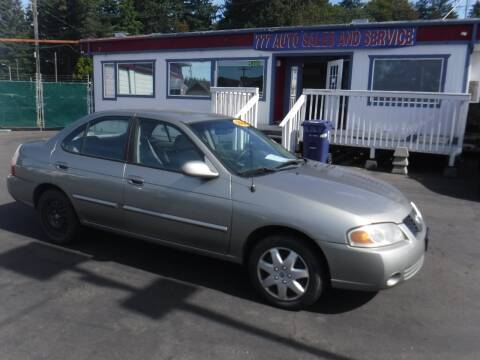 2004 Nissan Sentra for sale at 777 Auto Sales and Service in Tacoma WA