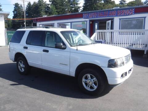 2004 Ford Explorer for sale at 777 Auto Sales and Service in Tacoma WA
