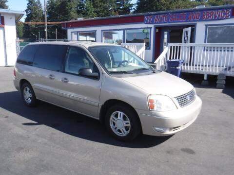 2007 Ford Freestar for sale at 777 Auto Sales and Service in Tacoma WA