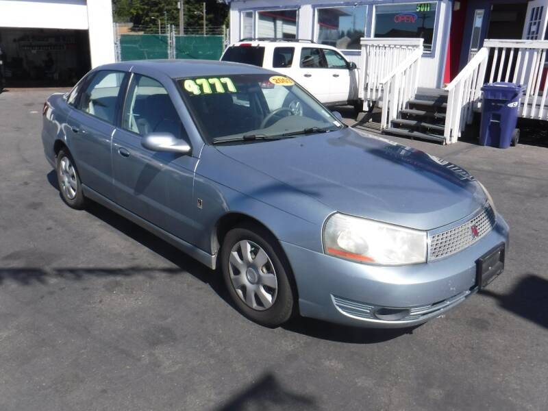 2003 Saturn L-Series for sale at 777 Auto Sales and Service in Tacoma WA
